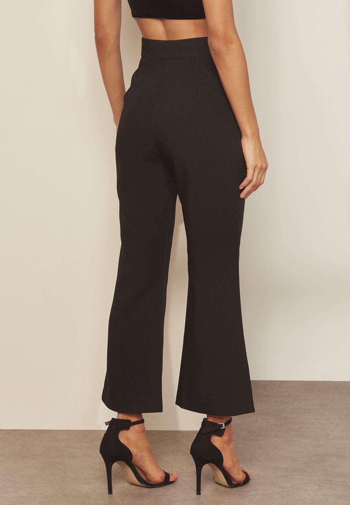 Opulent Wide Leg Pants