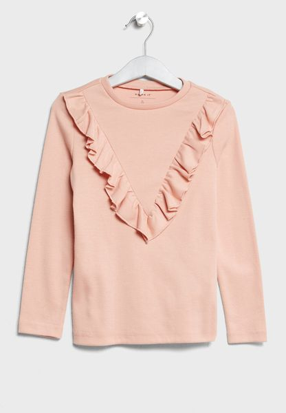 Tween Frill Top