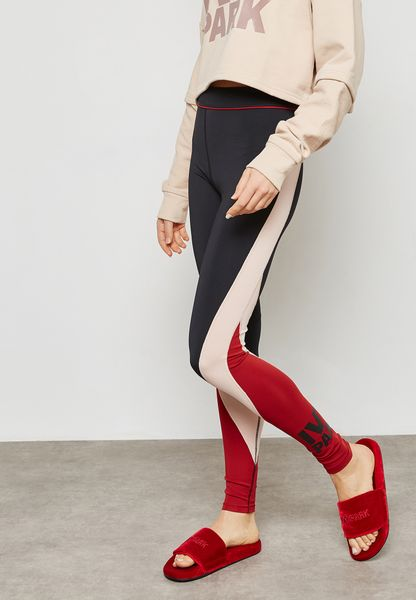 Colourblock Ankle Legging
