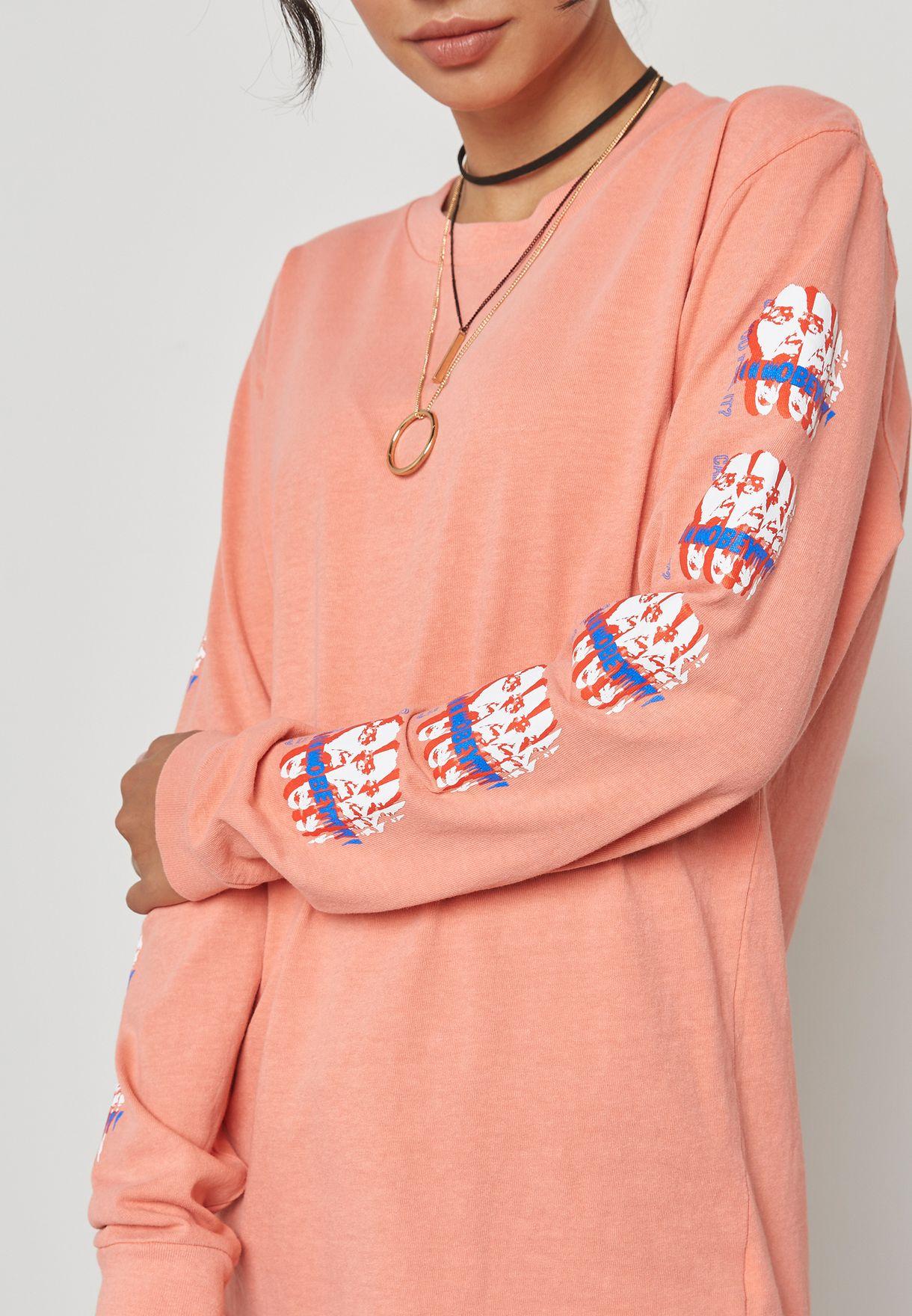 Printed Long Sleeve T-Shirt