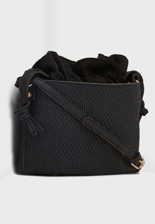 Fabric Lined Hobo Bag