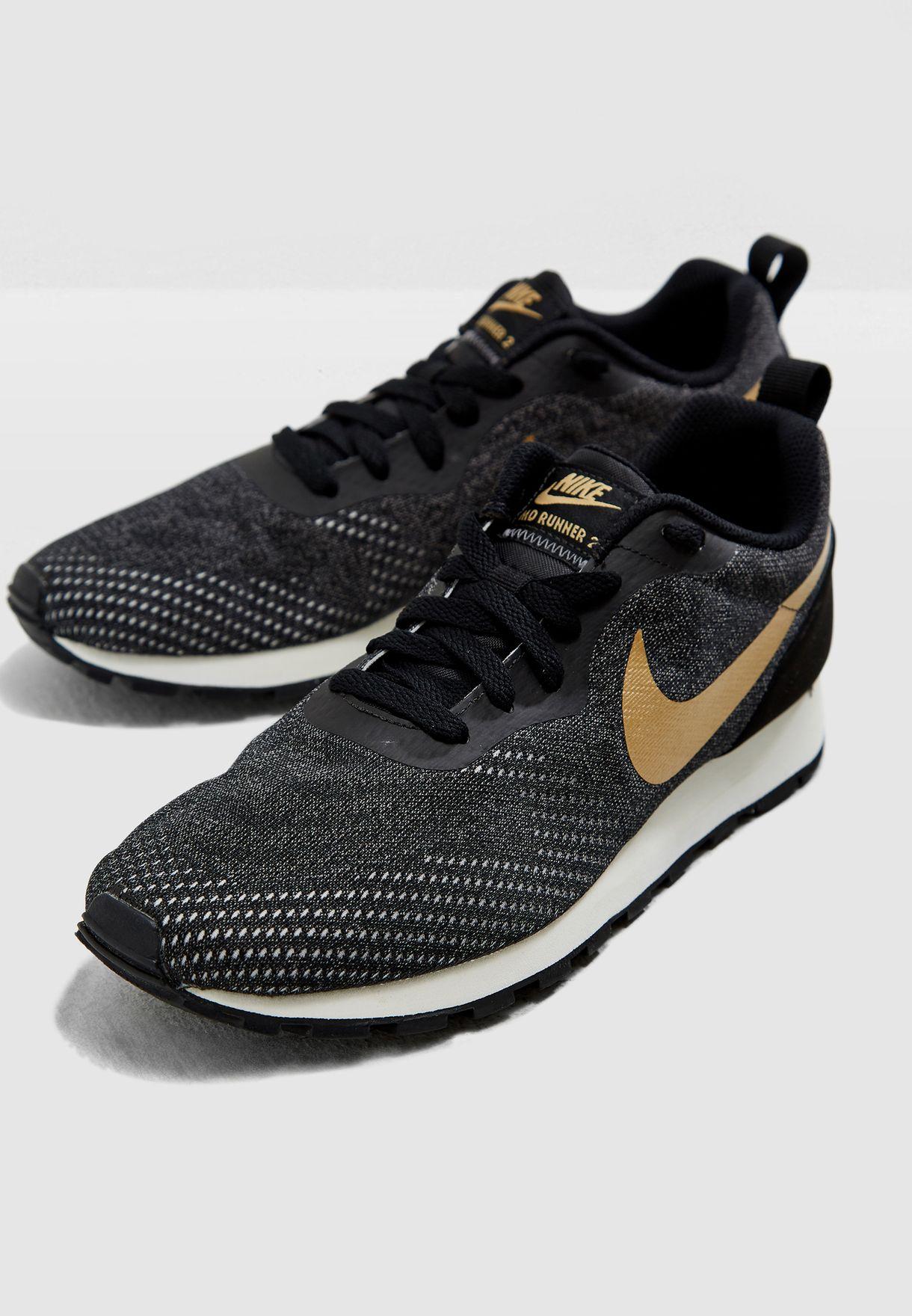 c889e4dc2b5 Shop Nike black MD Runner 2 ENG Mesh 916797-007 for Women in UAE ...