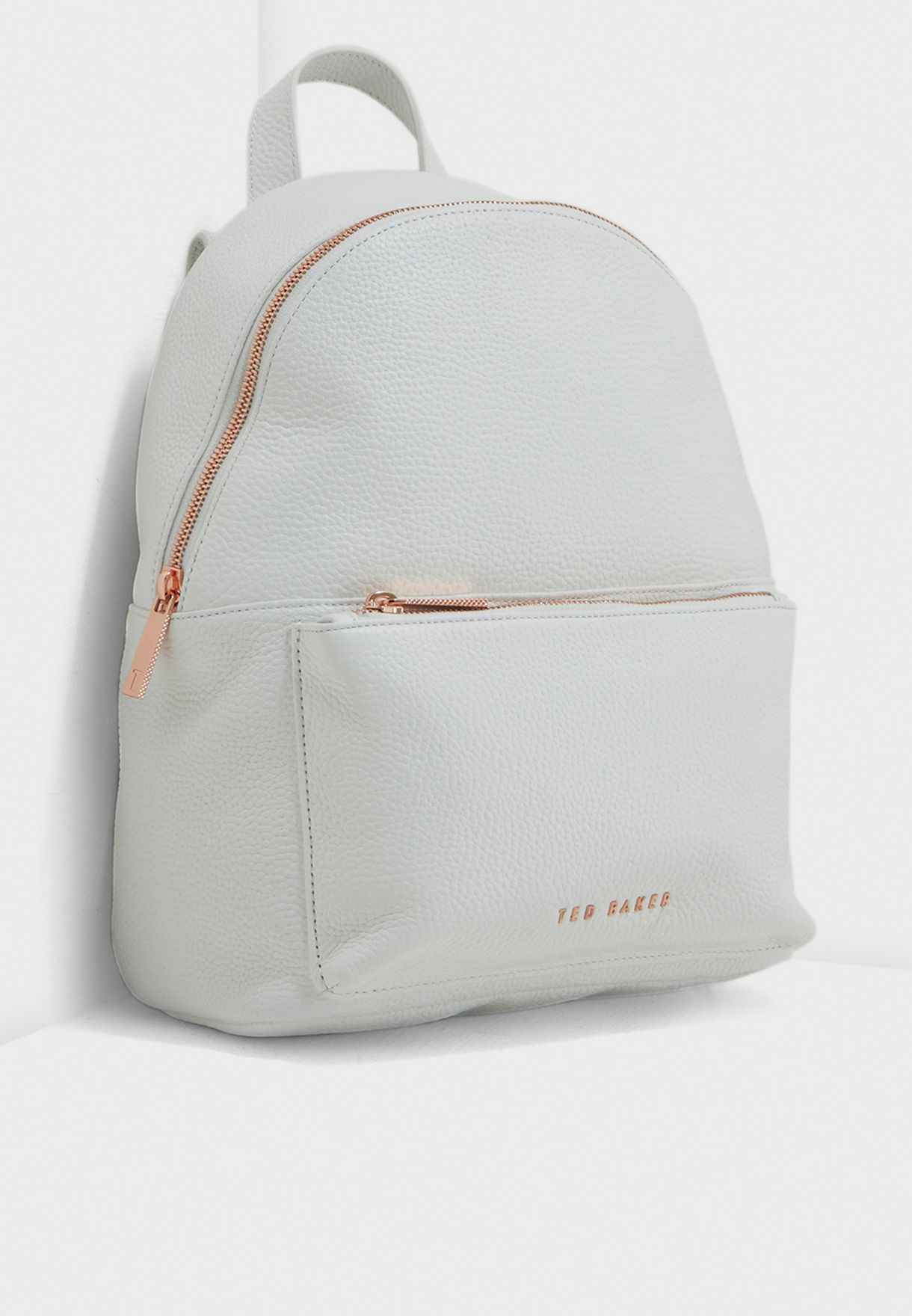 5c6a2483b Shop Ted baker white Pearen Soft Grain Backpack 143201 for Women in UAE -  TE456AC23ILK