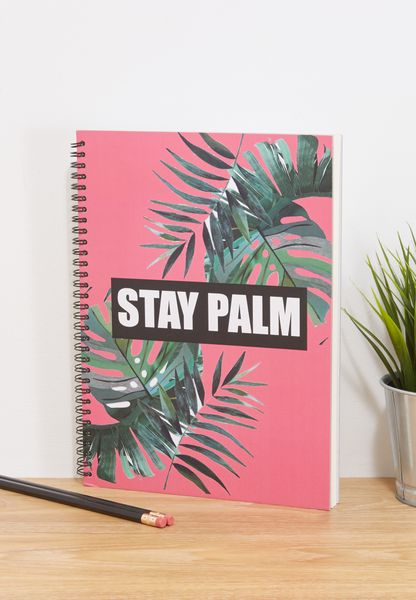 Stay Palm Notebook
