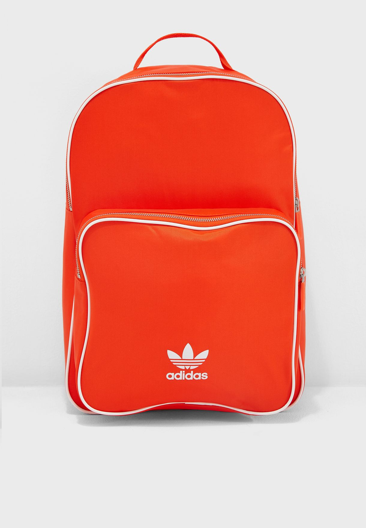 f2b723f9b48e Shop adidas Originals orange adicolor Classic Backpack DV0184 for ...