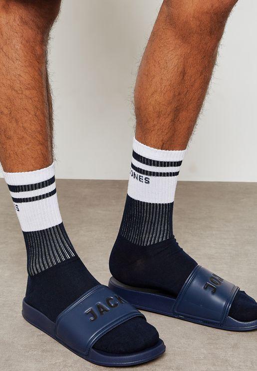 Casual Slyde & Sock Bundle