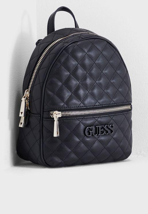 Elliana Front Zip Backpack