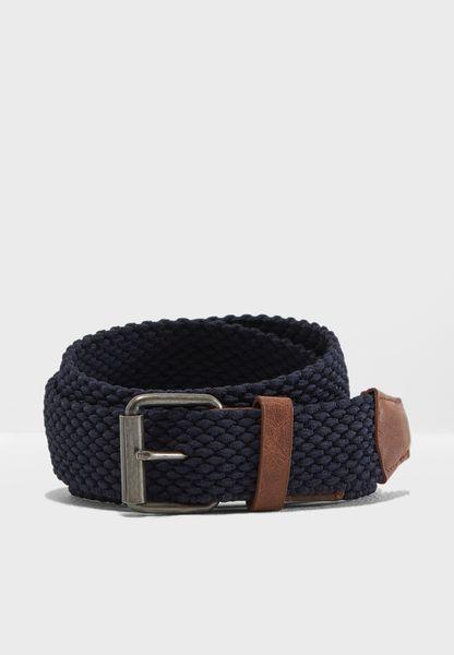 Stretch Plait Belt