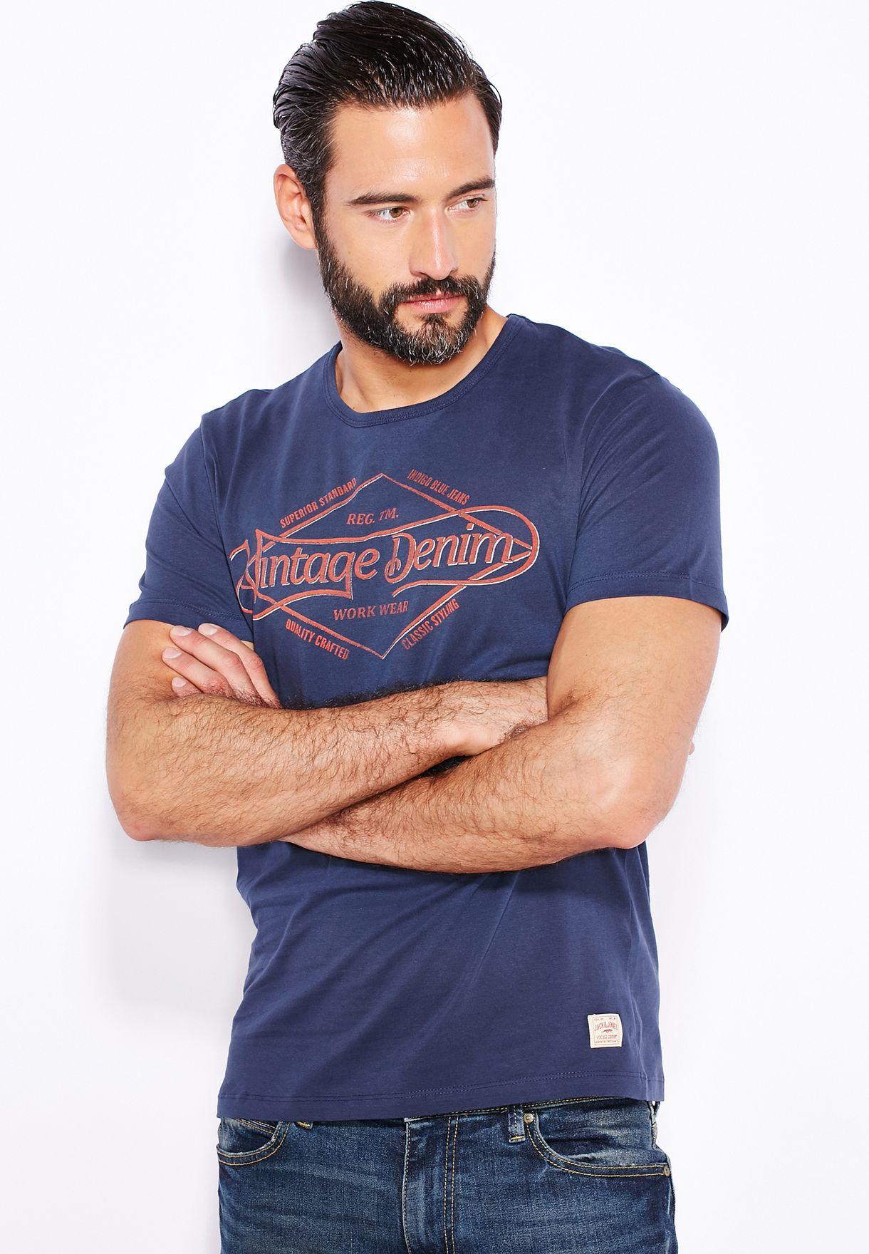 new style 69e87 165b5 Vintage Denim T-Shirt