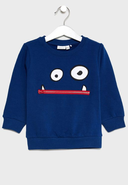 Infant Emoji Sweatshirt