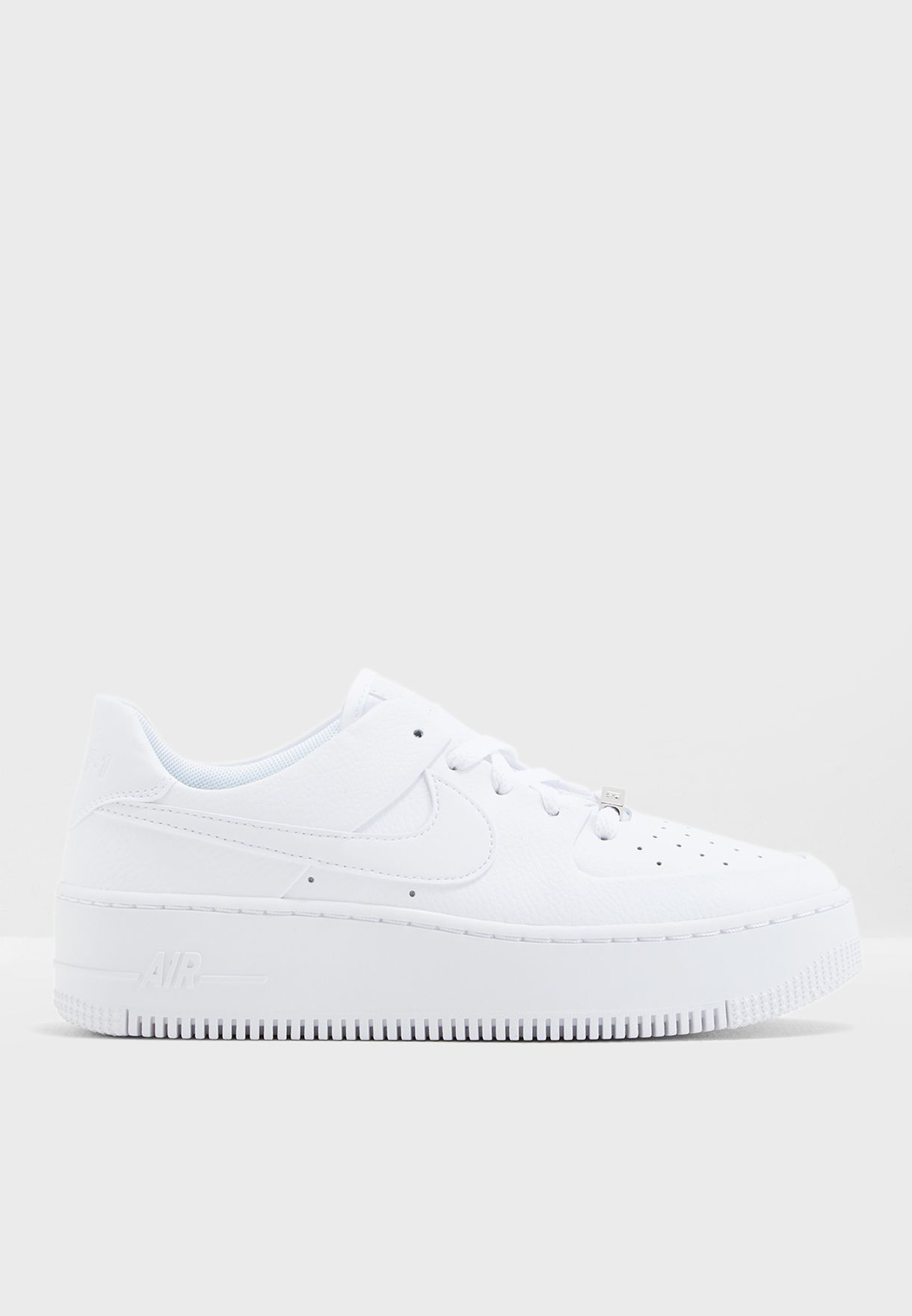 f6396c67873 Shop Nike white Air Force 1 Sage LCE XX AR5339-100 for Women in UAE ...