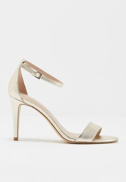 Two-Piece Naked High Heel Sandal