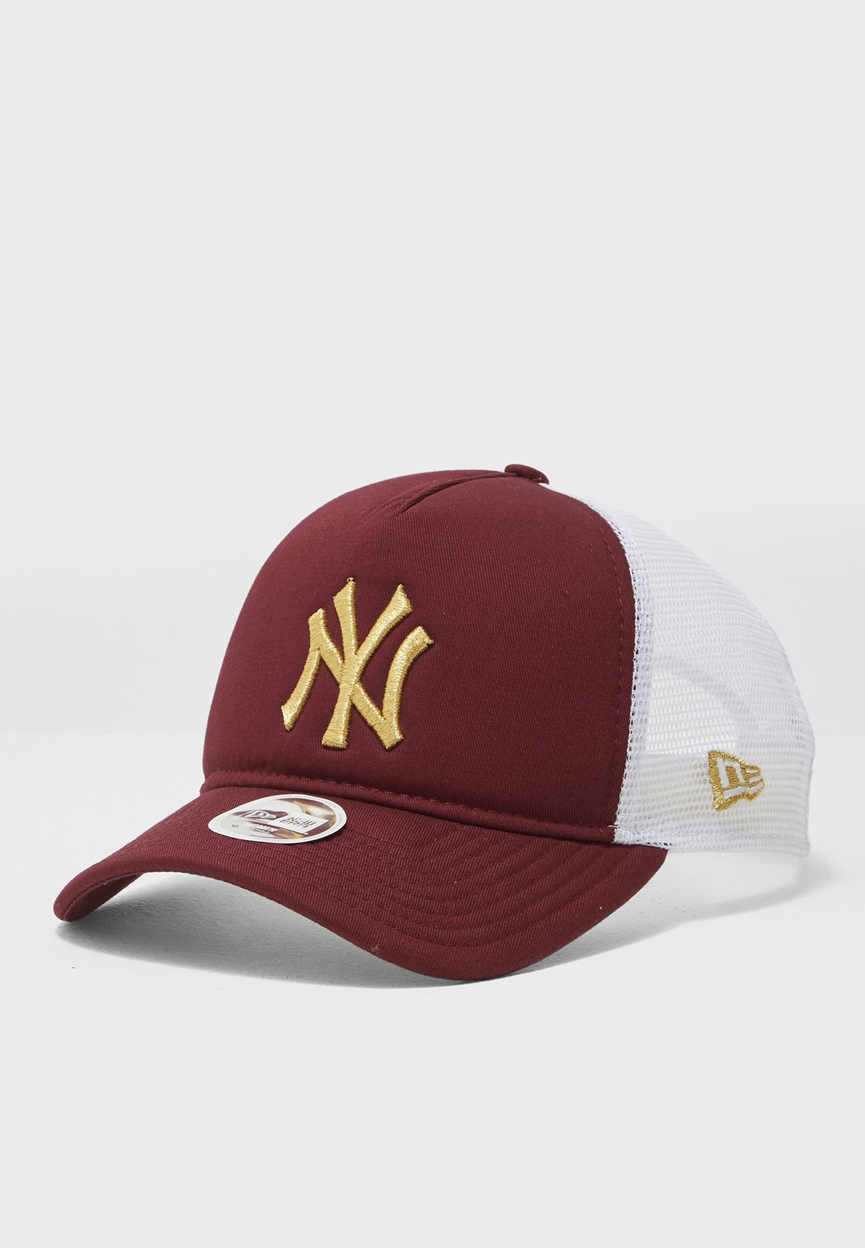 Shop New Era burgundy 9Forty New York Yankees Cap 80536468 for Women in  Qatar - NE207AC23VEI bfb8ca447