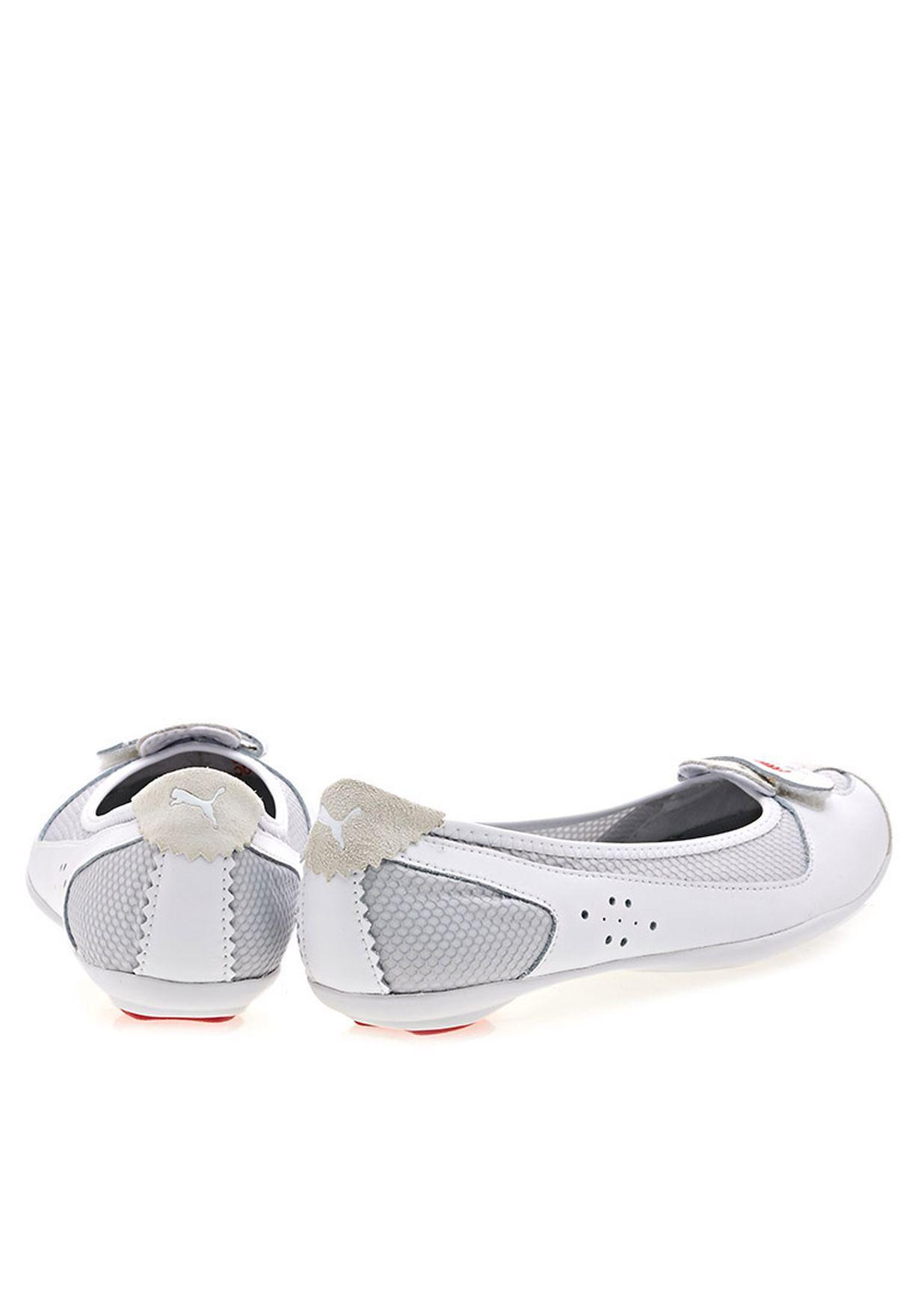 c855062d6b02 Shop PUMA white Zandy Mesh Ballerina 35320213 Zandy Mesh Wn  39 s ...