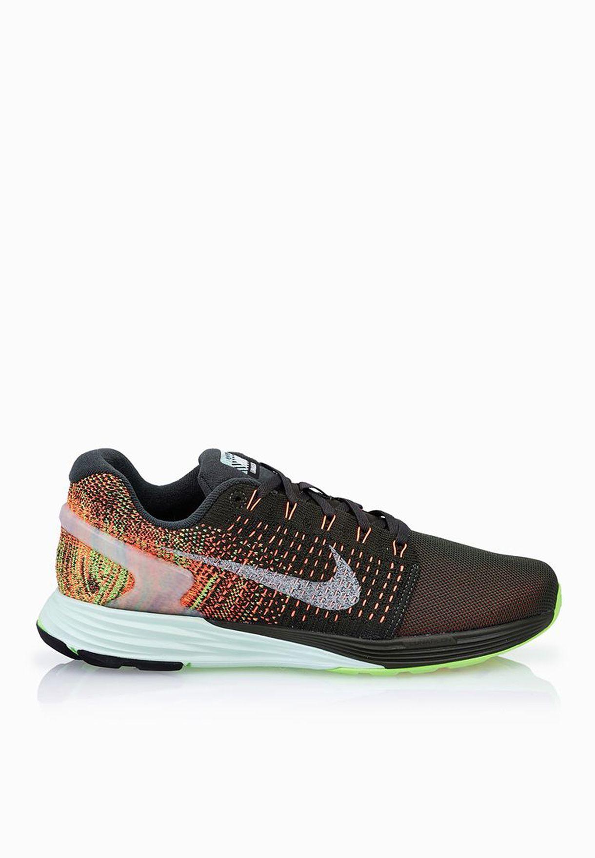 f73494e97a Shop Nike multicolor Lunarglide 7 Flash 803567-300 for Women in UAE ...