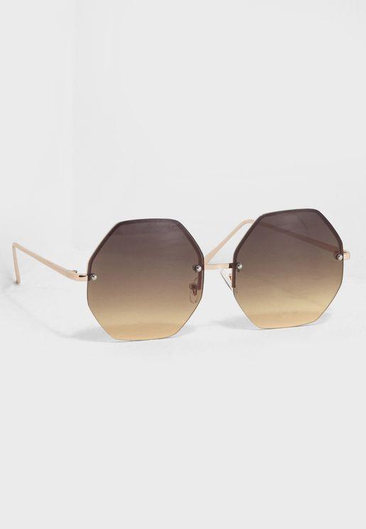 Ulialia Frame Less Sunglasses