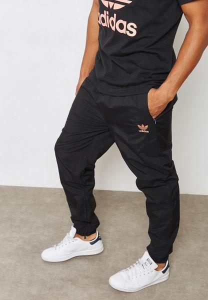 Pharrel Hu Logo Cuffed Sweatpants