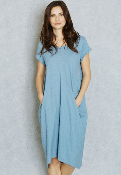 Pocket Oversized Dress
