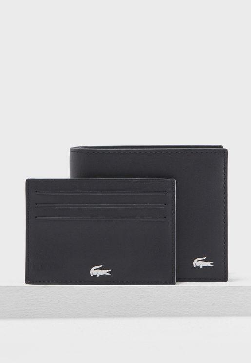 طقم محفظة مع حافظة بطاقات