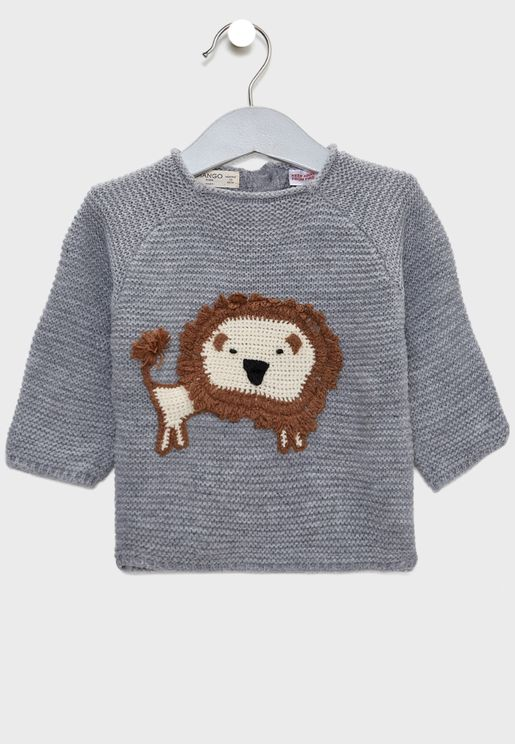 Infant Wild Cat Sweater