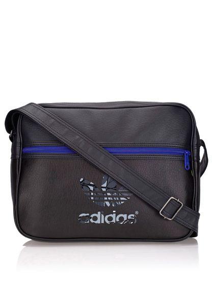 1857e577259 ... preview of 97ffa 99386 Shop adidas Originals black Airline Messenger  S20100 for Men in Globally ...