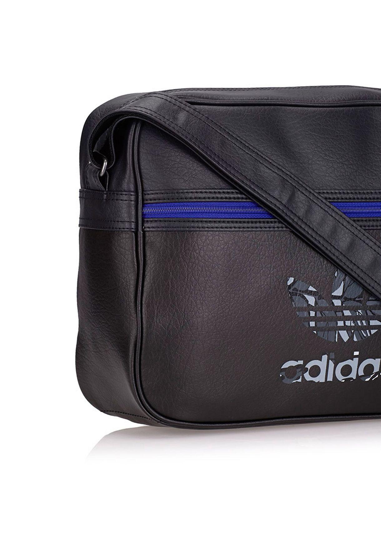 Shop adidas Originals black Airline Messenger S20100 for Men in ... abfaa921e08f9