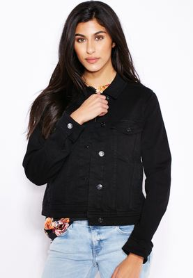 MANGO Button Down Denim Jacket