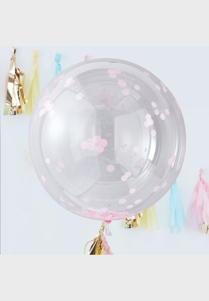 Large Orb Confetti Balloon