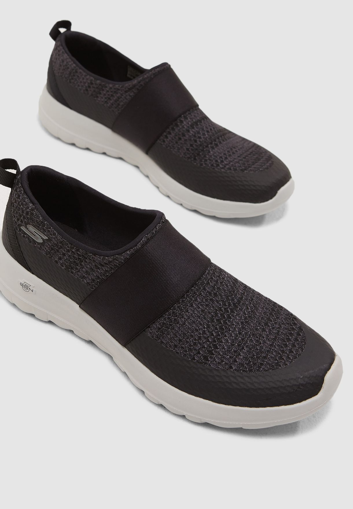 fc557d3e9 Shop Skechers black Go Walk Joy 15630-BKGY for Women in Saudi ...