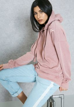 Embroidered Detail Hoodie