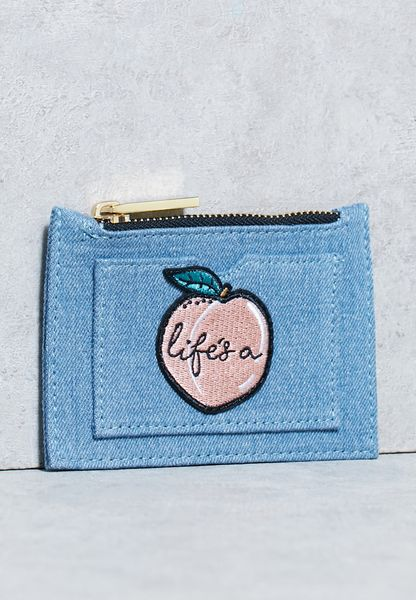 Life's A Peach Coin Purse