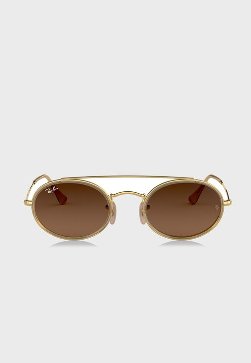 نظارة شمسية بجسر مزدوج 0RB3847N
