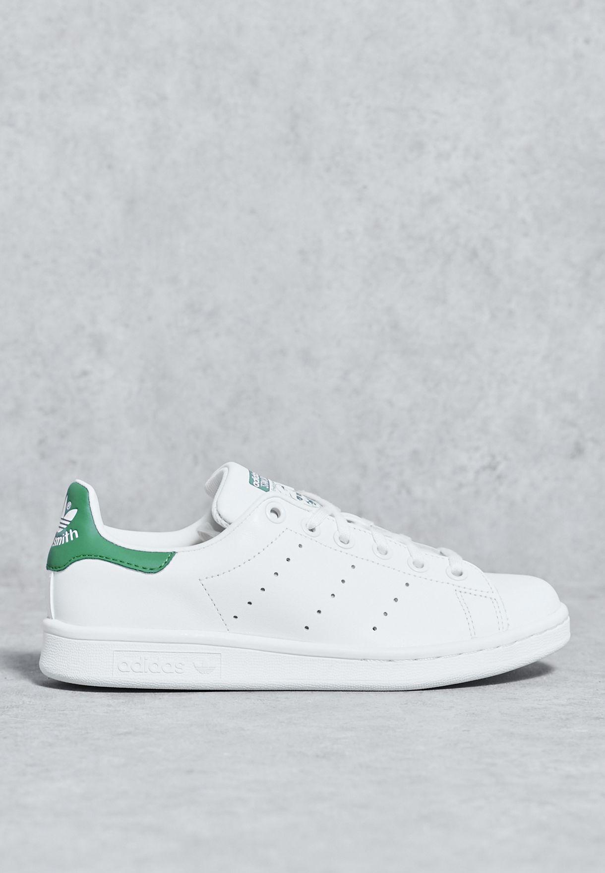 46b0b5d51 تسوق حذاء Stan Smith ماركة اديداس اورجينال لون أبيض M20605 في ...