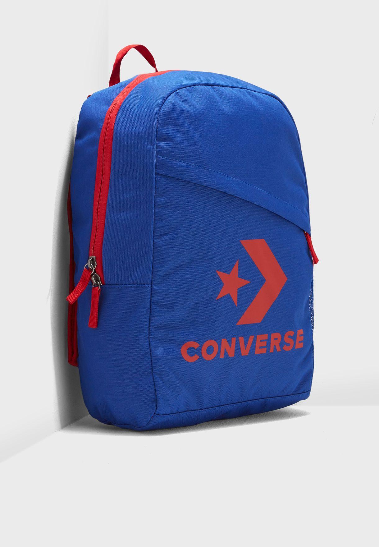Shop Converse blue Speed Backpack 10008091-A03 for Men in Saudi -  CO049AC23CKQ 74593d38c92c3