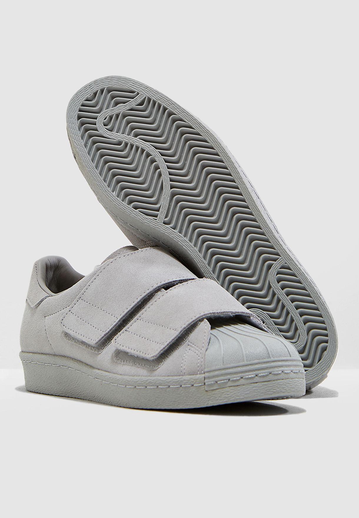 adidas Originals grey Superstar 80s CF