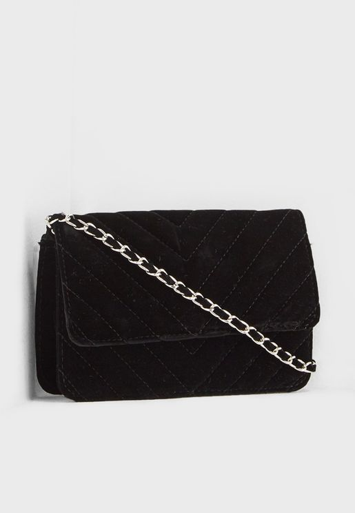 Faith Velvet Crossbody
