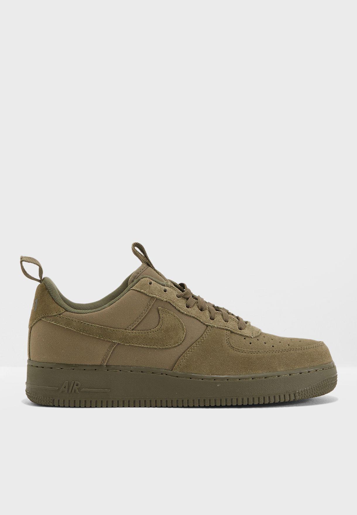 28407771457 Shop Nike green Air Force 1   39 07 579927-200 for Men in UAE ...