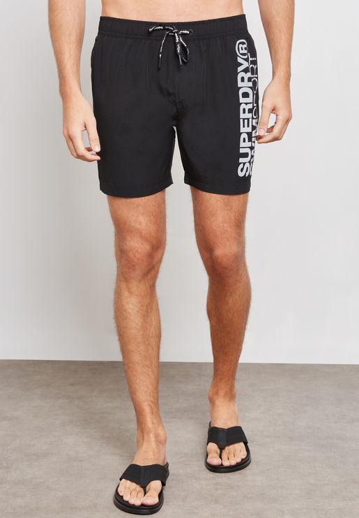 Superdry Sport Volley Swim Shorts
