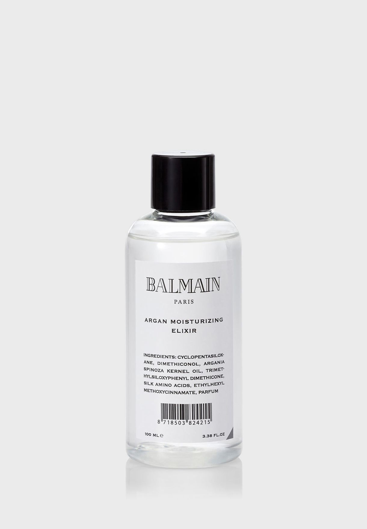 1f8f5e37 Shop Balmain Paris clear Argan Moisturizing Elixir 100ml ...