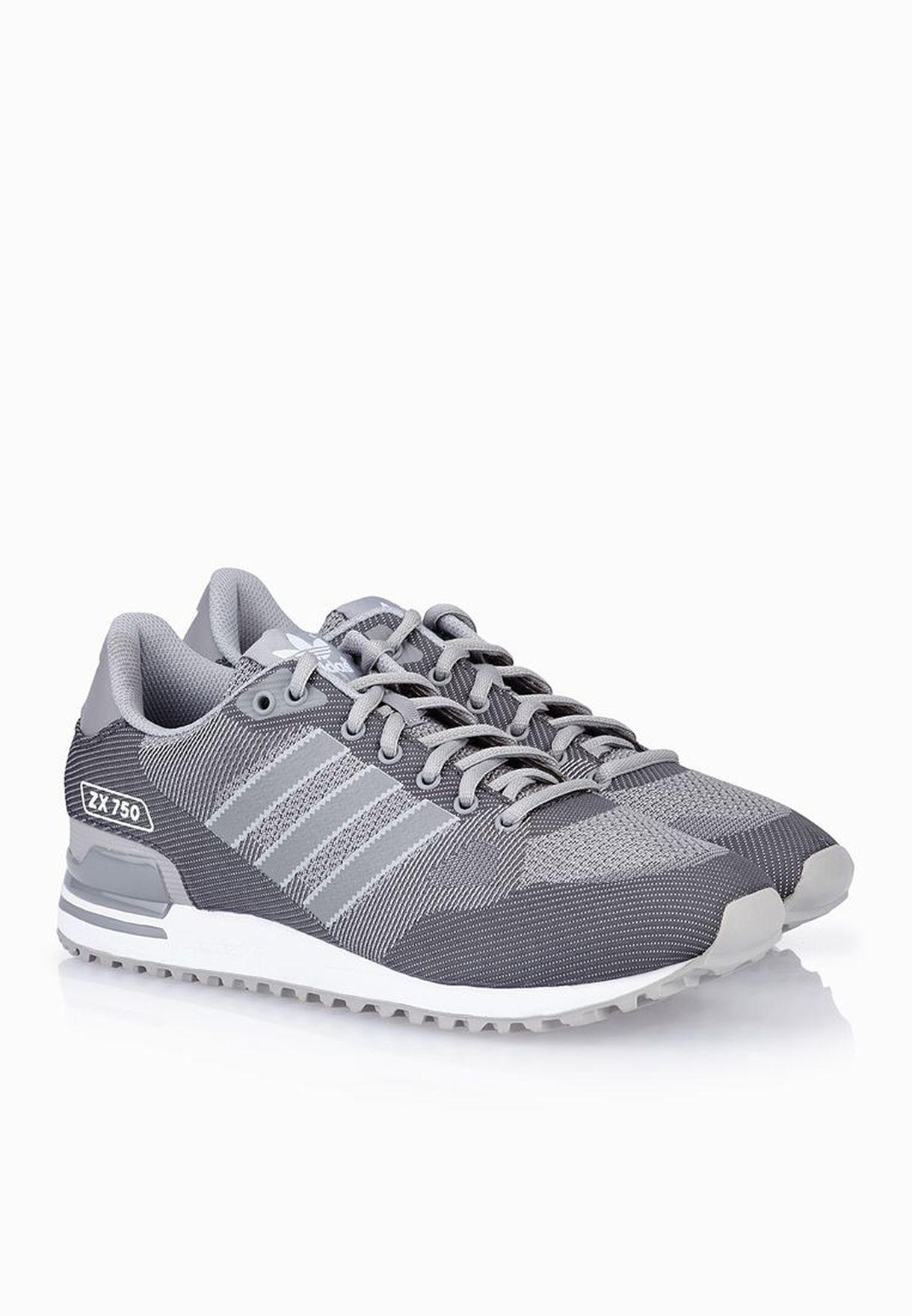 innovative design 33b60 68d9b Shop adidas Originals grey ZX 750 Weave S79196 for Men in UAE ...