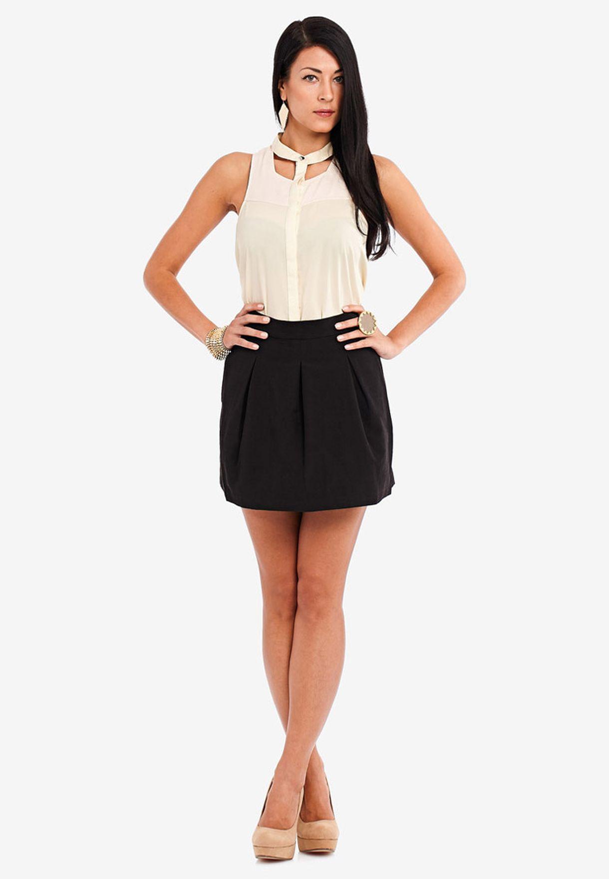 b0c494549cdf Shop Finders Keepers black Midi Skirt for Women in Qatar - FI293AT13OSC