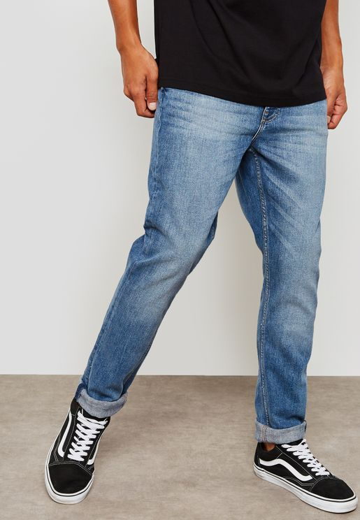 Sonic Washed Skinny Fit Jeans