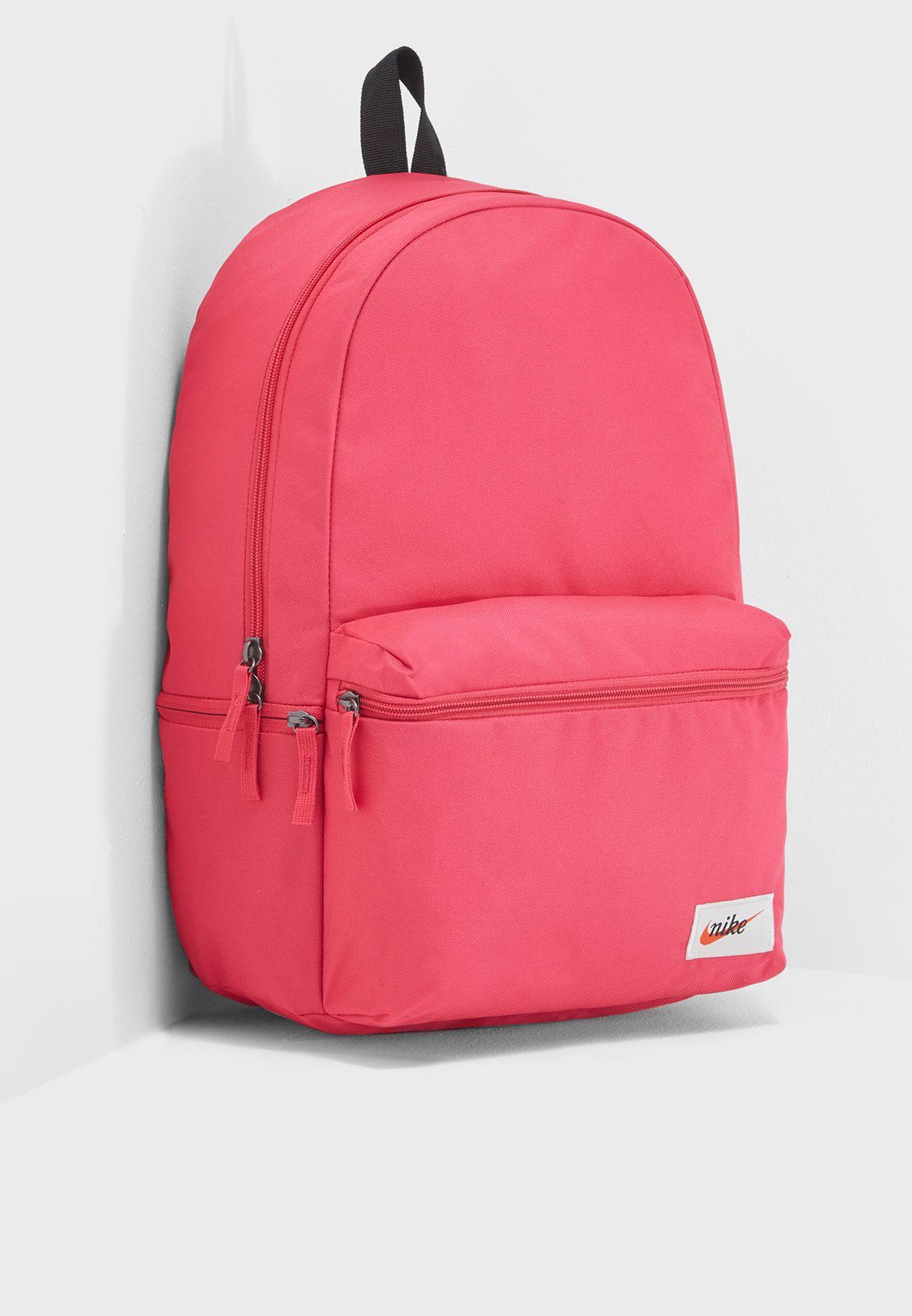 297e5bee4b Shop Nike pink Heritage Backpack BA4990-666 for Women in UAE ...