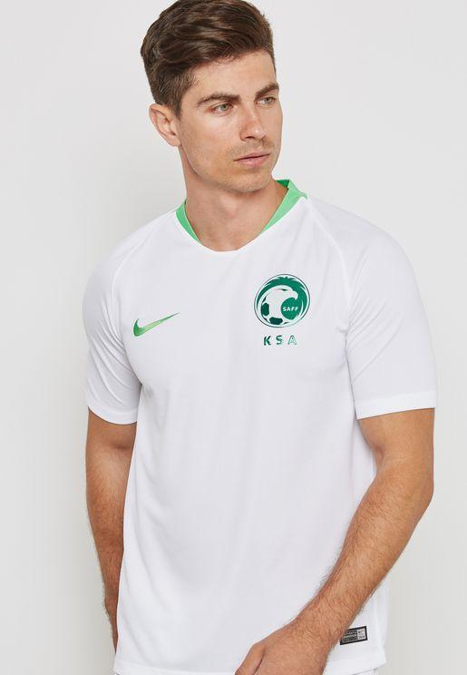 تيشيرت بشعار المنتخب السعودي لكرة القدم