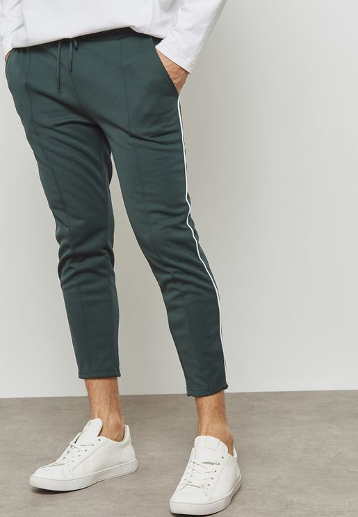 William Draw String Track Pants