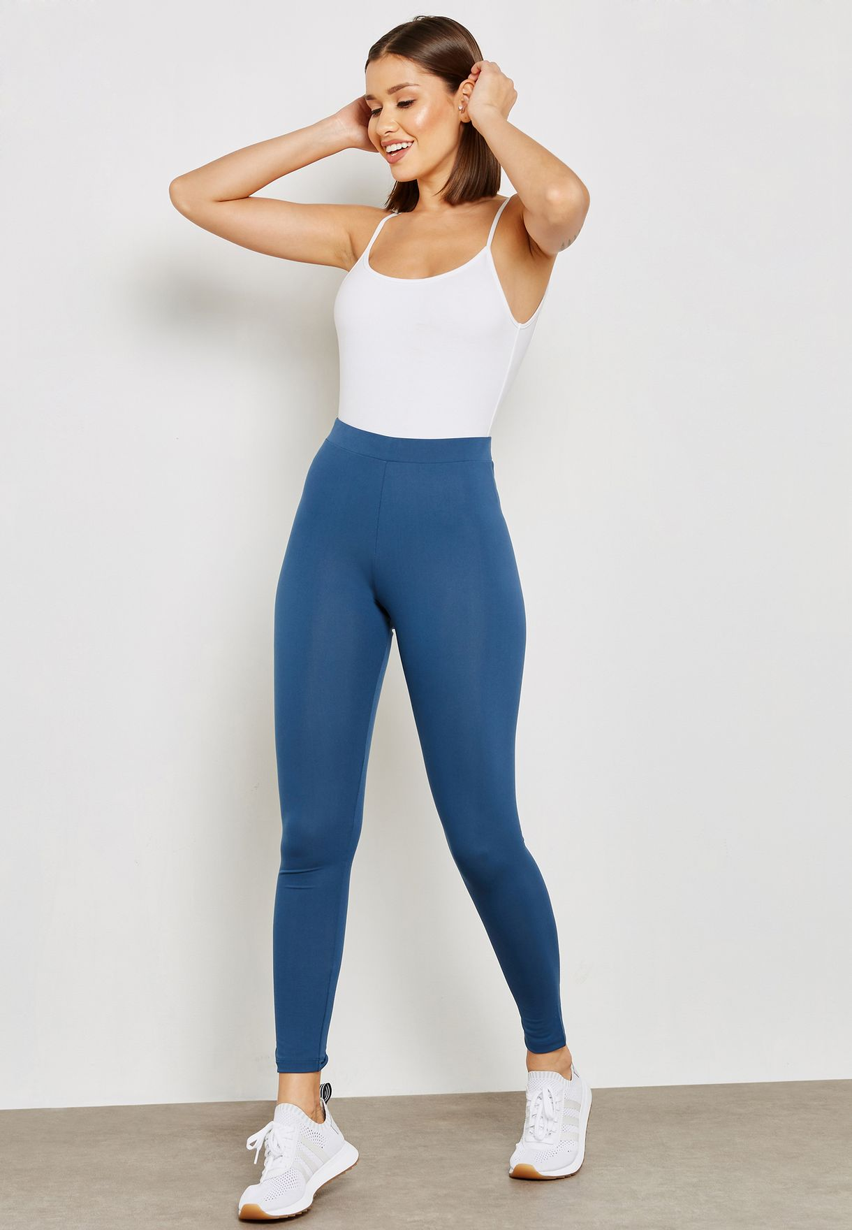 Adicolor Leggings Cw5078 For Trefoil Shop Blue Originals Adidas tqO4C