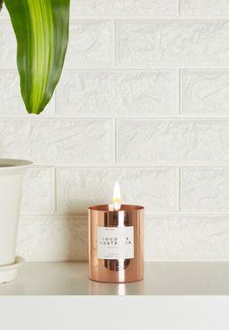 Wild Frangipani Sol Copper Candle
