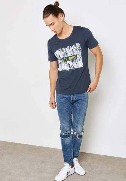 Jack & Jones. Invert Printed T-Shirt
