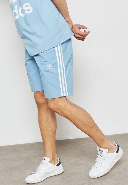 adicolor 3 Stripe Swim Shorts