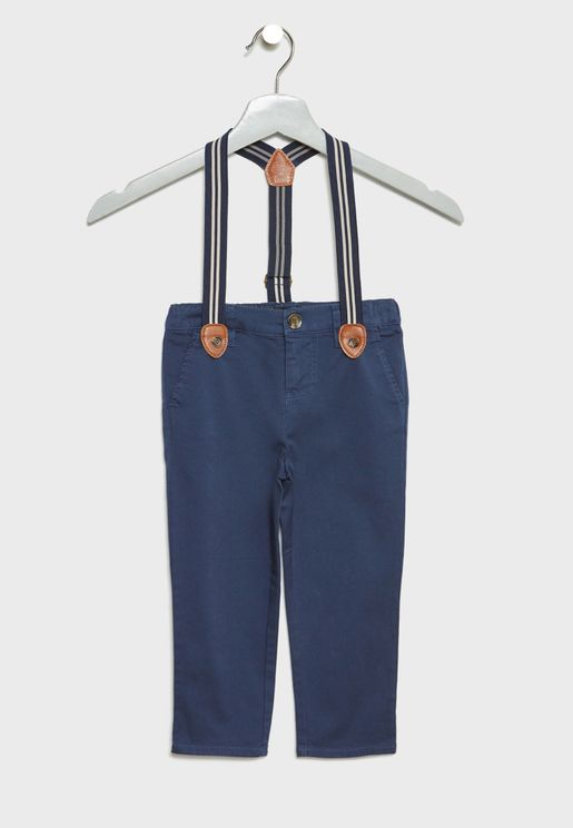 Infant Suspender Pants
